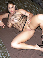 Eva Notty in Sexy Fishnet