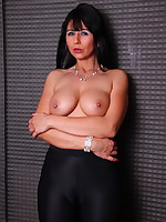 Desyra Noir, gorgeous MILF with big tits