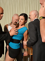 Ariella Ferrera the Gangbang Office Whore